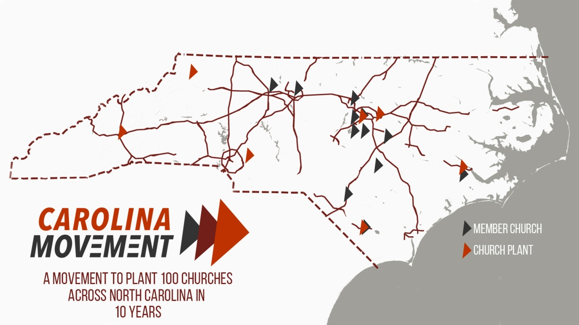 Carolina Movement Map
