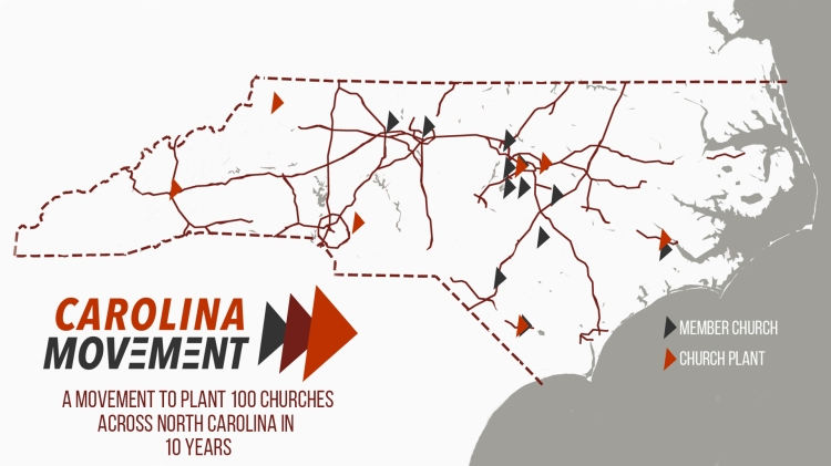 Carolina Movement Map